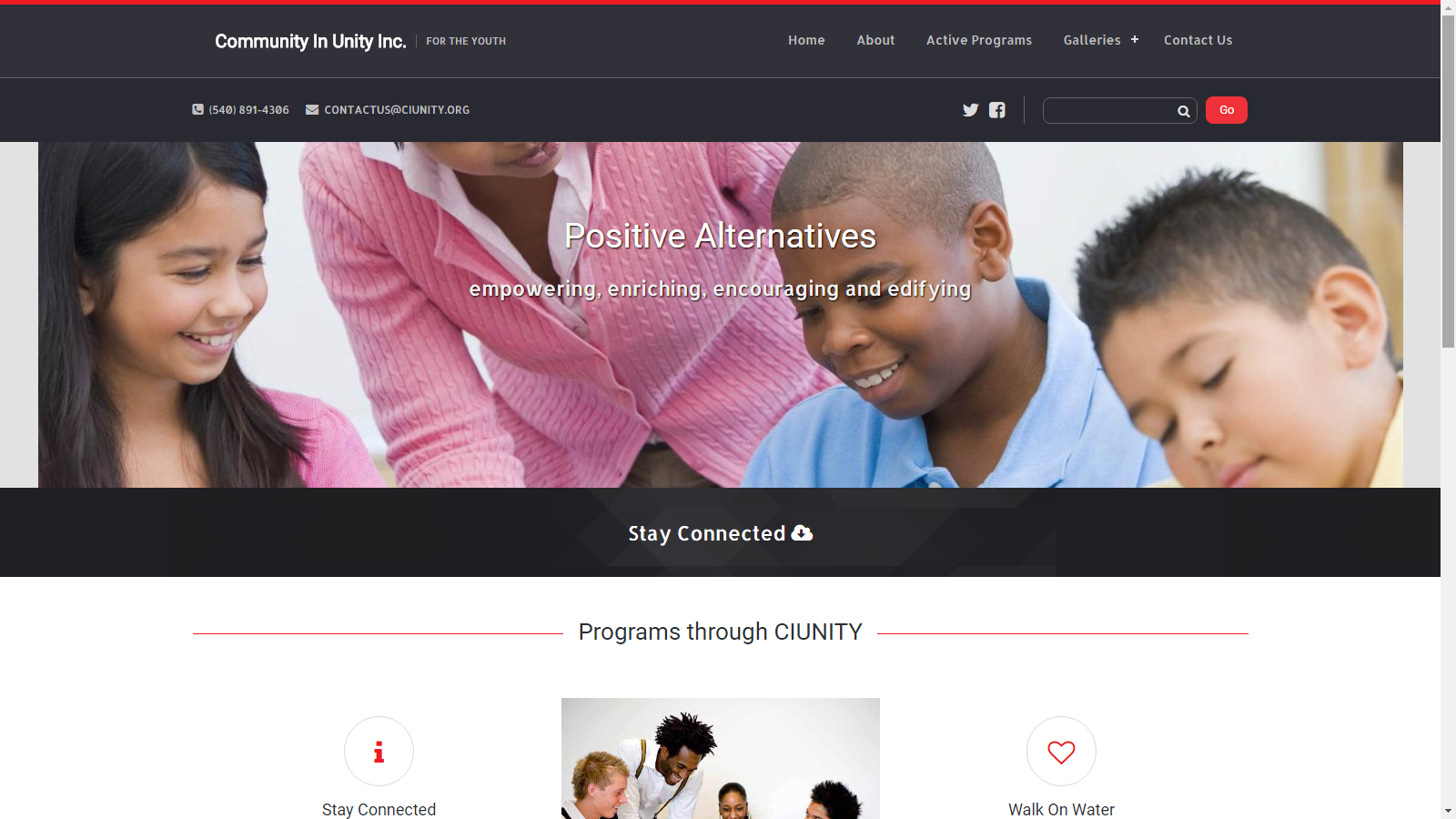 Community In Unity Inc. - For the Youth