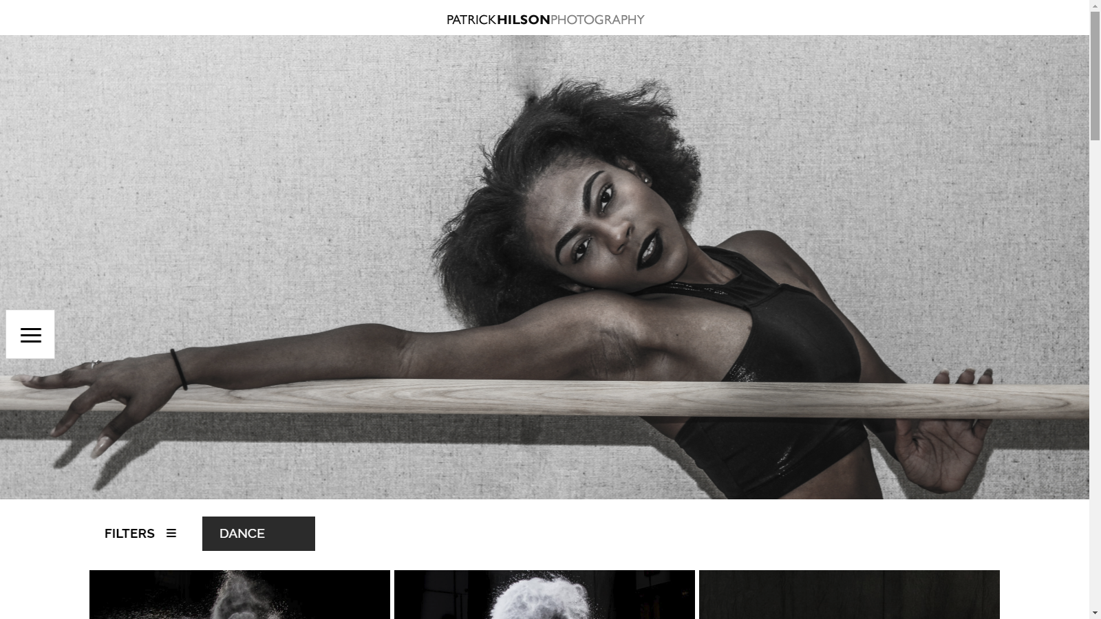 Patrick Hilson Photography Website