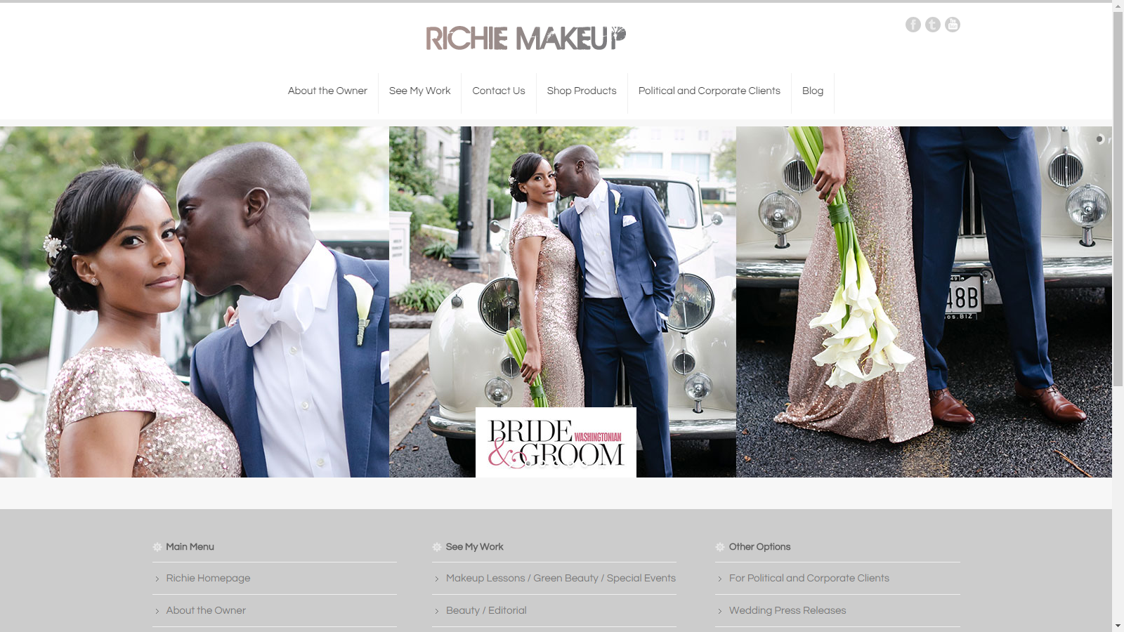 Richie Makeup Website