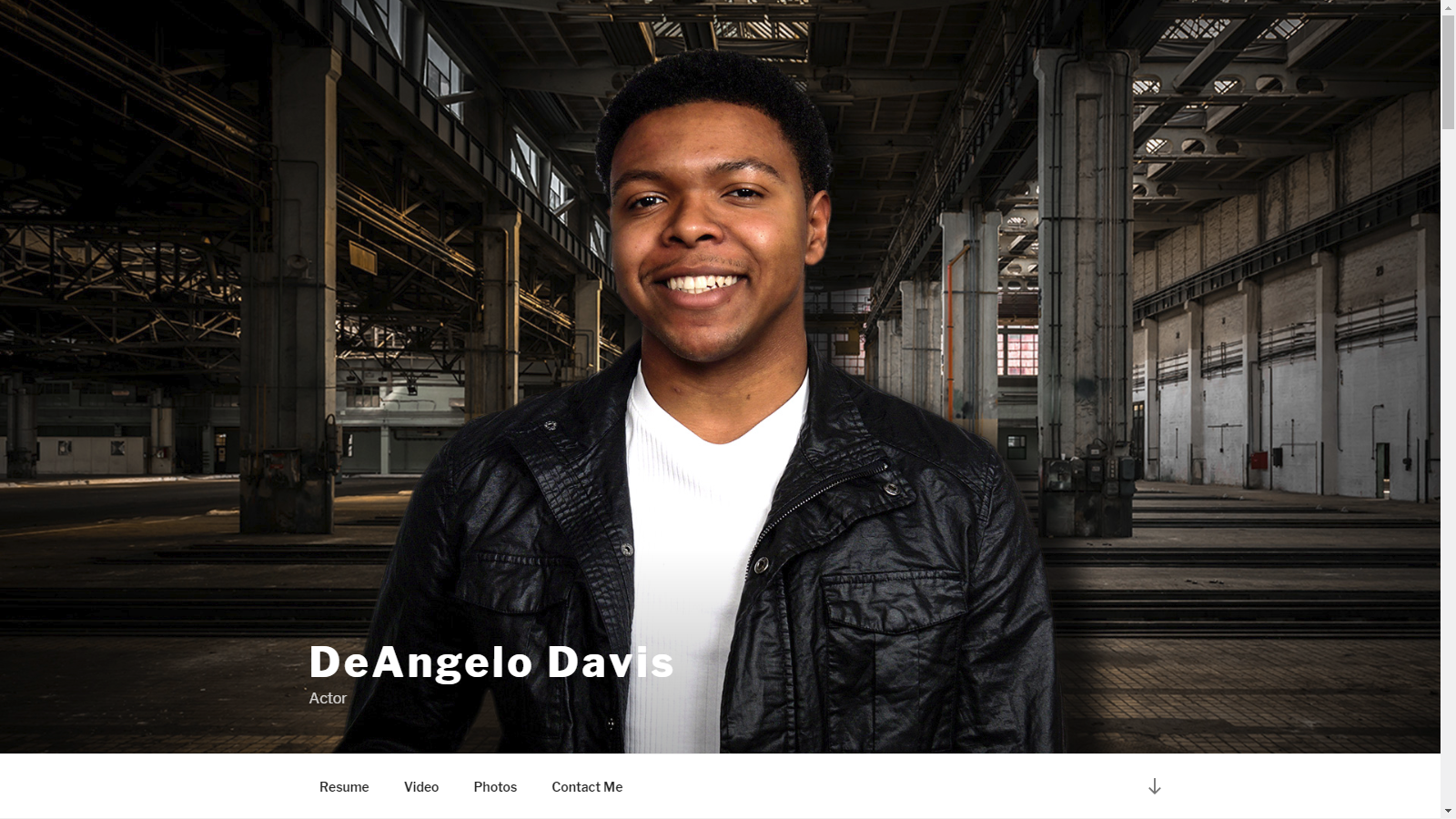 DeAngelo Davis - Actor Website